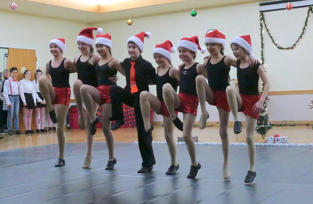 Flight students entertain in Broomfield in December.