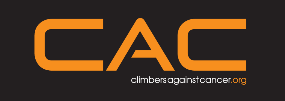 the Climbing Clinic support Climbers Against Cancer  To donate click the logo
