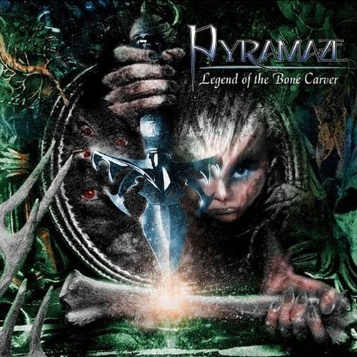 PYRAMAZE - LEGEND OF THE BONE CARVER (2006)