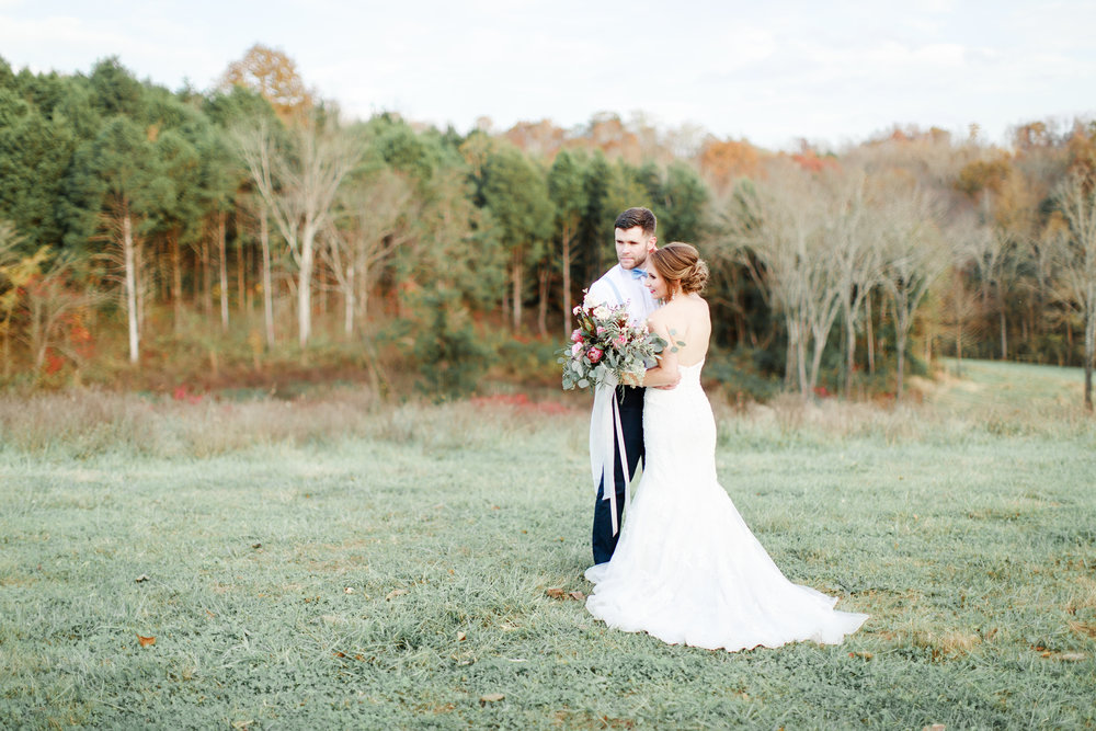 Jenna + Jake - A Styled Winter Wedding Editorial at Bodock Farms | Burkesville, Kentucky