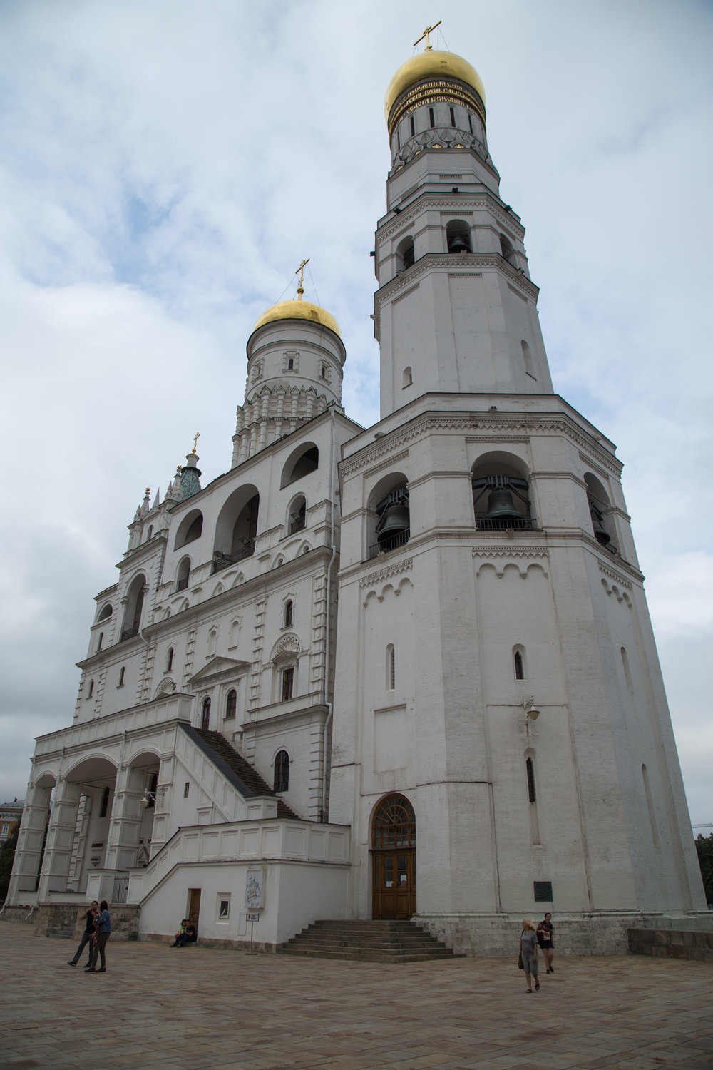 One of the churches found inside the Kremlin.