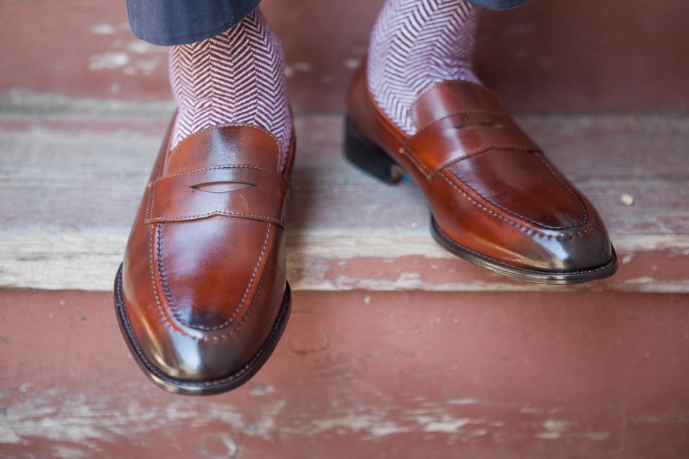 "Alexander Noel's Loafer -""The Collegiate"""