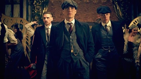 Peaky Blinders  is a television crime drama based upon the exploits of the  Peaky Blinders  gang,