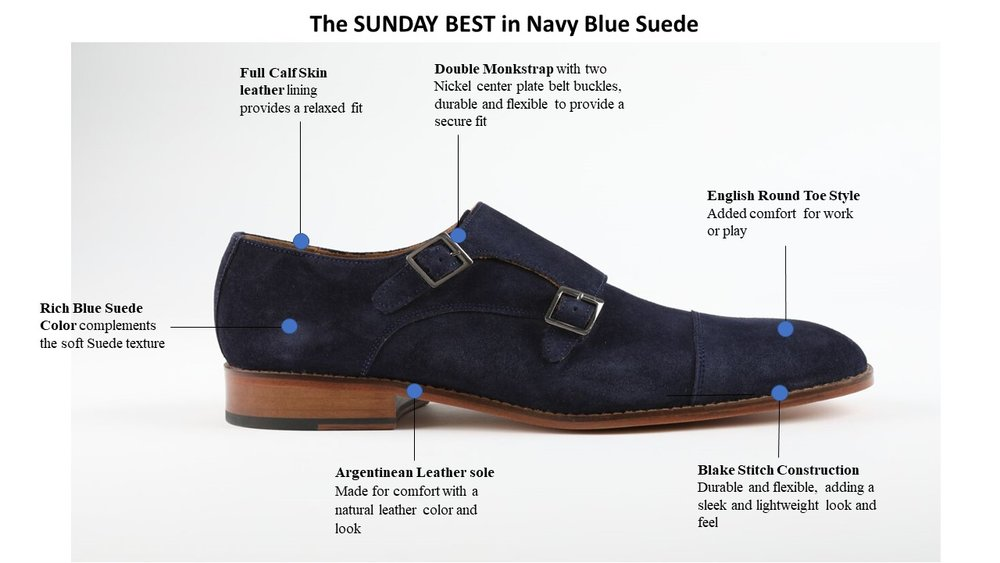The SUNDAY BEST in Navy Blue Suede-Reviewed.jpg