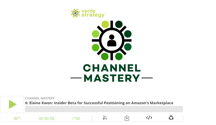 Verde Strategy Podcast | October 12, 2017 | Ecommerce  Insider Beta for Successful Positioning on Amazon's Marketplace