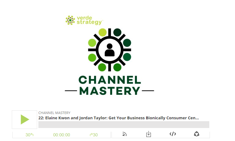 Verde Strategy Podcast | November 28, 2017 | Ecommerce  Elaine Kwon and Jordan Taylor Get Your Business Bionically Consumer Centric with Kwontified