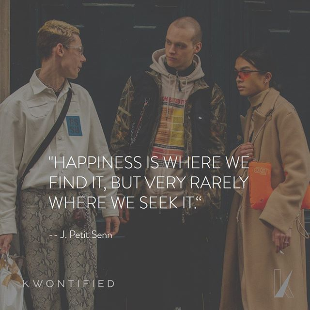 Happiness is already all around you! . . . 📷: @garconjon #chanlogic #fashion #mensfashion #mensstyle #fashionweek #menswear  #paris #parisfashionweek #instagood #instastyle #streetstyle #streetfashion #instafashion #fashiongram #fashionista #fashionblogger #highfashion #styleblogger #styleinspo #stylelookbook #streetwear #motivation #motivationalquote #outfitoftheday #inspiration #inspirationalquote #quoteoftheday #vogue #instadaily