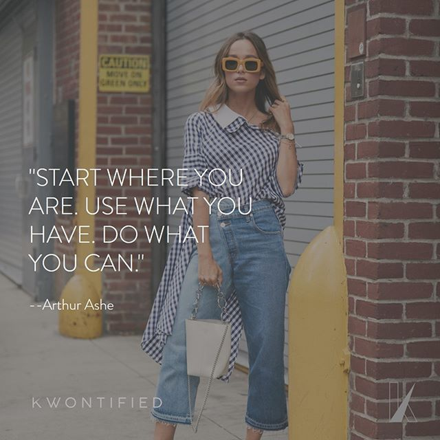 Make the best of where you are and what you have. . . . 📷: @thestylestalkercom #kwontified #fashion #style #fashionweek #instagood #newyorkfashionweek #outfitoftheday #streetlook #ootd #streetstyle #streetfashion #instafashion #fashiongram #fashionblog #fashionstyle #fashionista #fashionblogger #highfashion #styleblogger #styleinspo #stylelookbook #fashionlookbook #motivation #motivationalquote #success #inspiration #inspirationalquote #quoteoftheday #thestylestalkercom #stylestalker