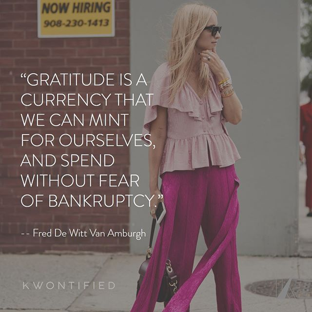 Be grateful! . . . 📷: @thestylestalkercom #kwontified #fashion #style #fashionweek #instagood #newyorkfashionweek #outfitoftheday #streetlook #ootd #streetstyle #streetfashion #instafashion #fashiongram #fashionblog #fashionstyle #fashionista #fashionblogger #highfashion #styleblogger #styleinspo #stylelookbook #fashionlookbook #motivation #motivationalquote #success #inspiration #inspirationalquote #quoteoftheday #thestylestalkercom #stylestalker