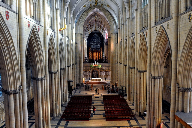 York Minster with Advent wreath  ( image credit )