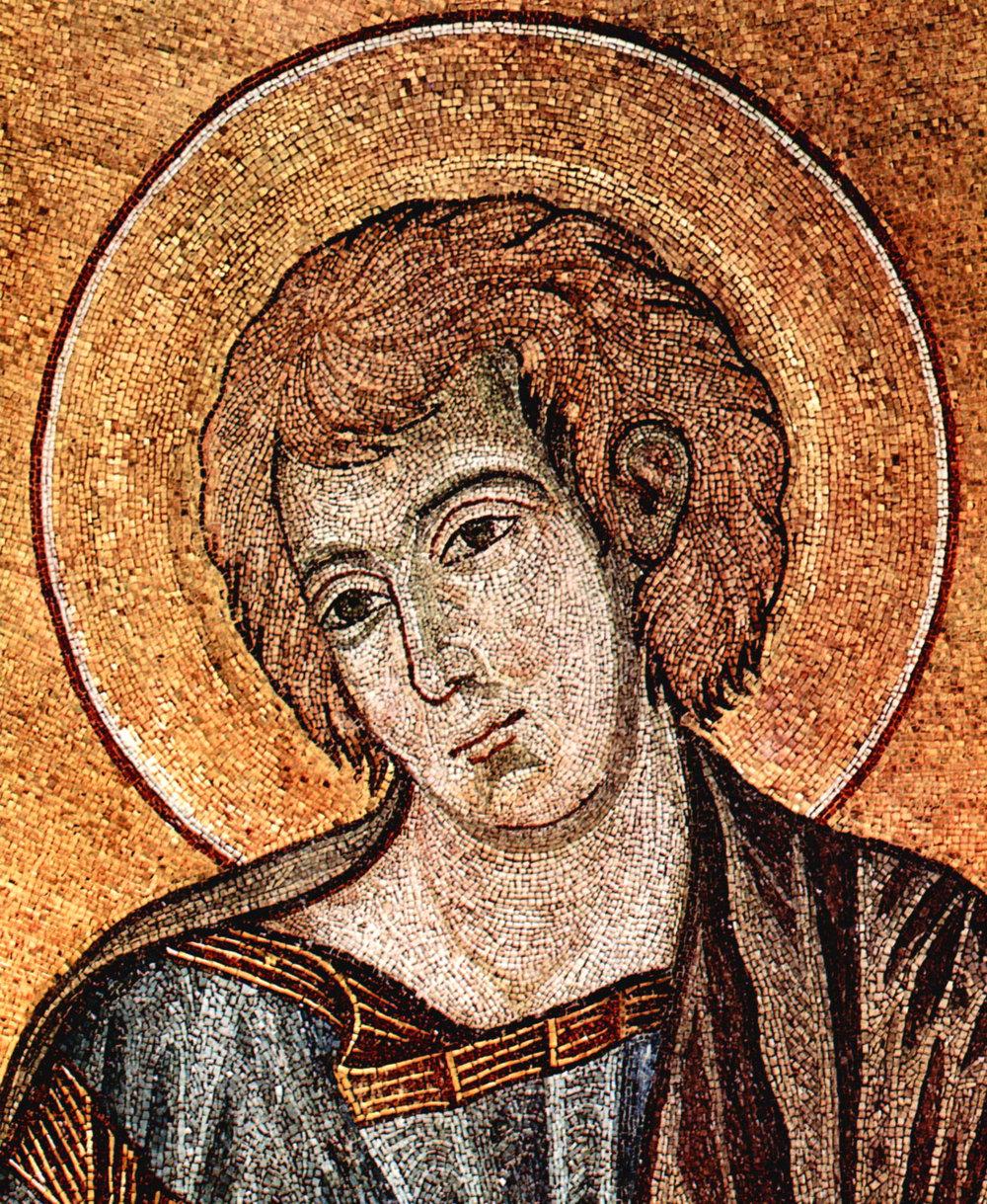 John the Evangelist (Cimabue, circa 1301,  Vanderbilt Divinity Library )