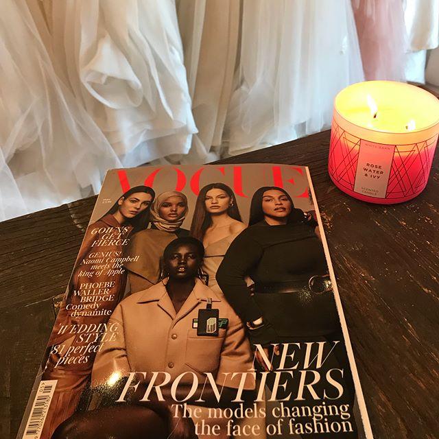 "Hello Vogue UK! Check us out on ""Vogue's Royal Wedding"" section! #royalwedding #voguemagazine"