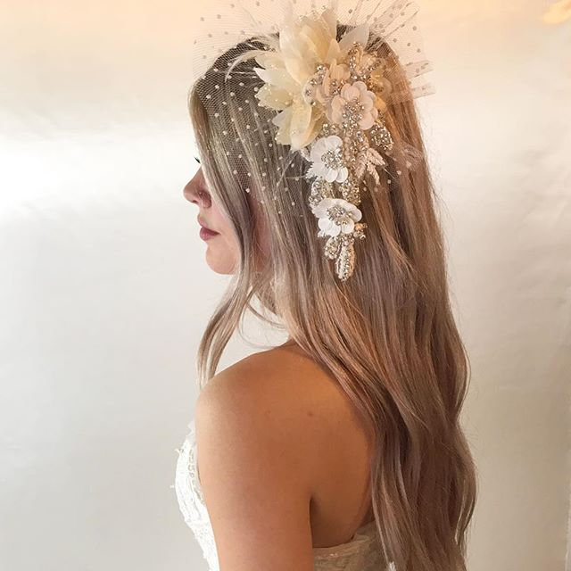 You know you secretly want to rock a fascinator to a wedding after watching the #royalwedding 🌸 #bespokebride