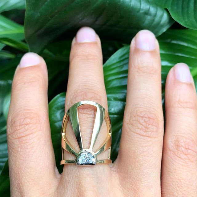 Celebrating the longest day of the year! @selinkent your Summer Soltice Ring is a beauty!