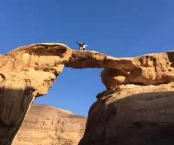 Wadi Rum Nature Tours - Burdah Rock Arch Bridge