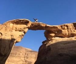 Wadi Rum Nature Tours - Burdah Rock Arch Bridge