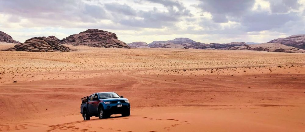 Jeep Tour 4x4 Wadi Rum Nature Tours