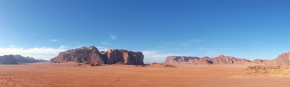 Wadi Rum Jordan Landscape