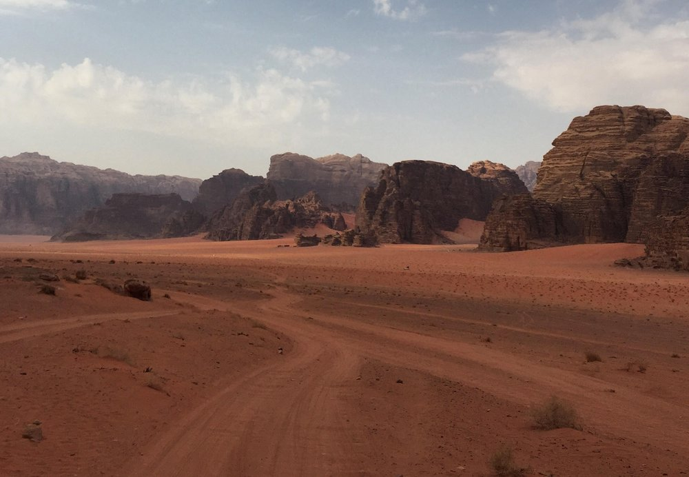 The Wadi Rum Protected Area, a UNESCO World Heritage Site in the south of Jordan. Photo taken by Jurick Wessels,  @jurickwessels on Instagram .