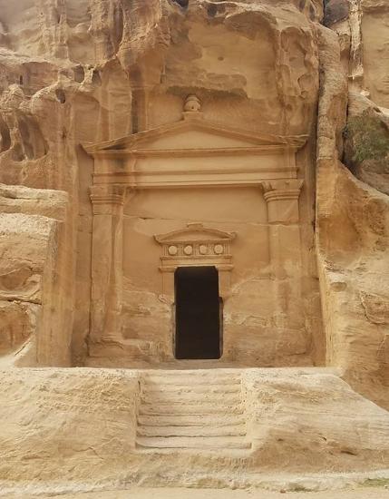 Little Petra. Photo taken by Sean,  @a_wandering_vagabond on Instagram .