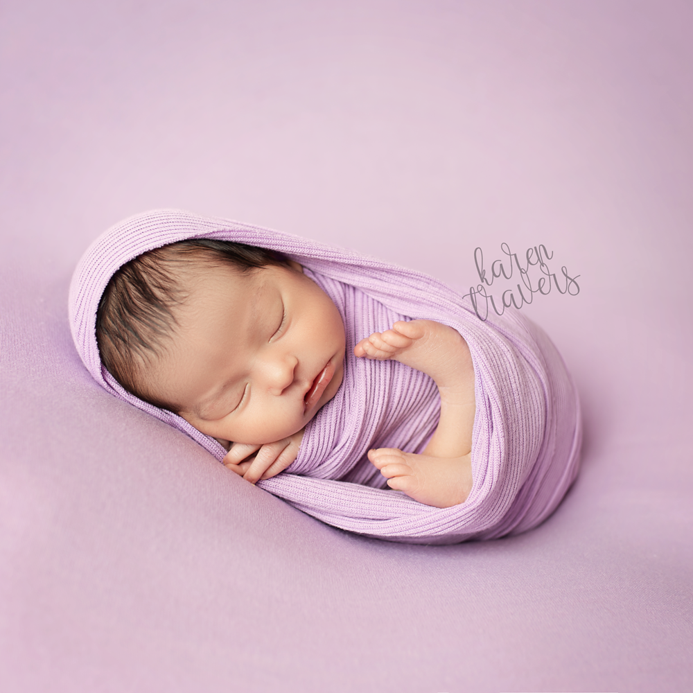 Wrapped Newborn Session - $275