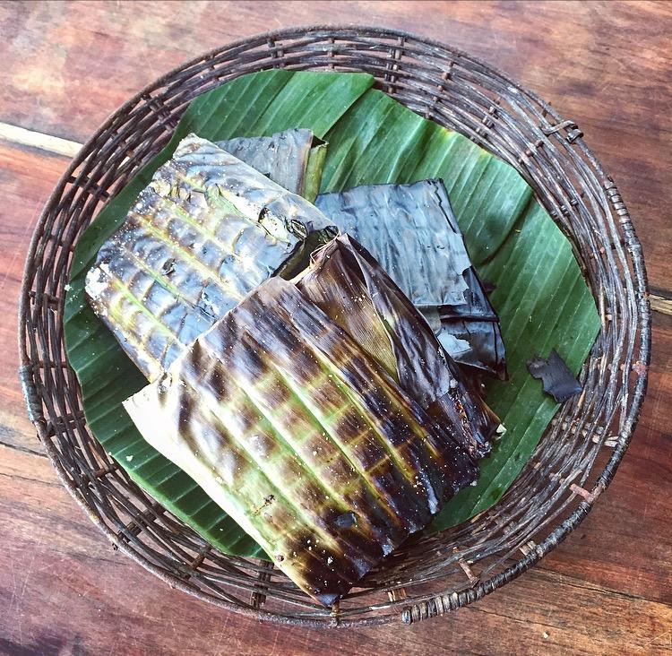 Redbridge_Shrimp banana leaf cooked .jpg