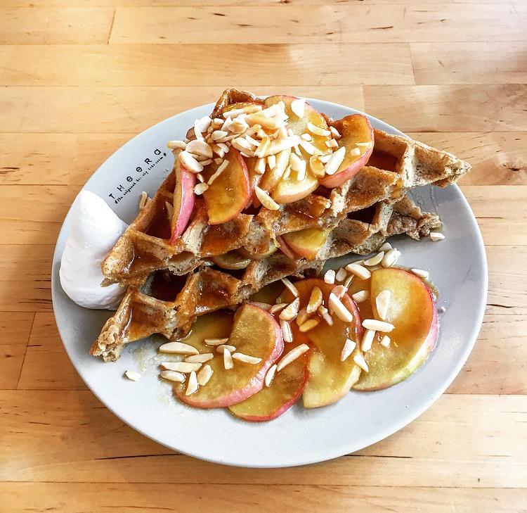 Waffles @ Theera Healthy Bakery
