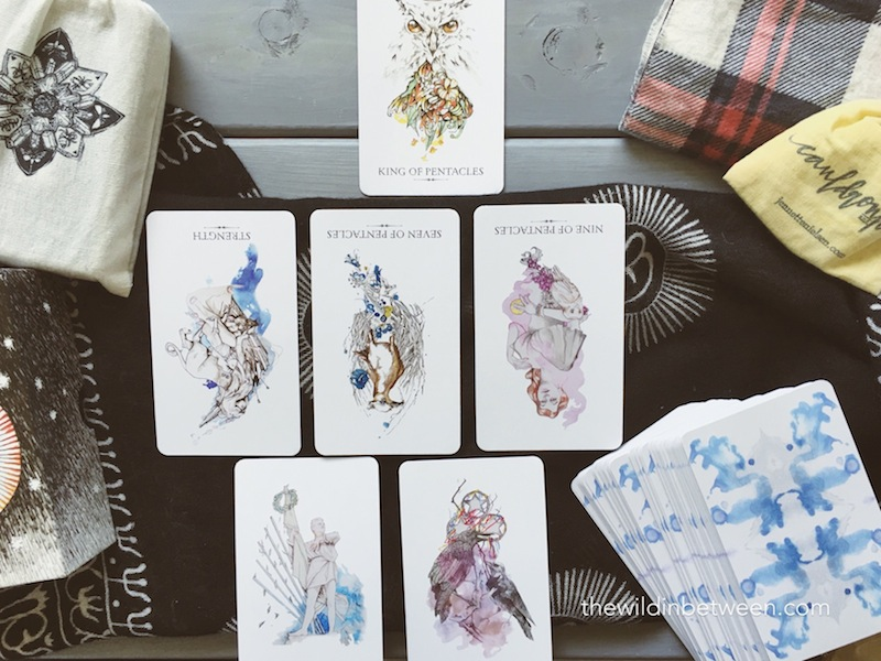 The Linestrider Tarot Deck A Review The Wild In Between