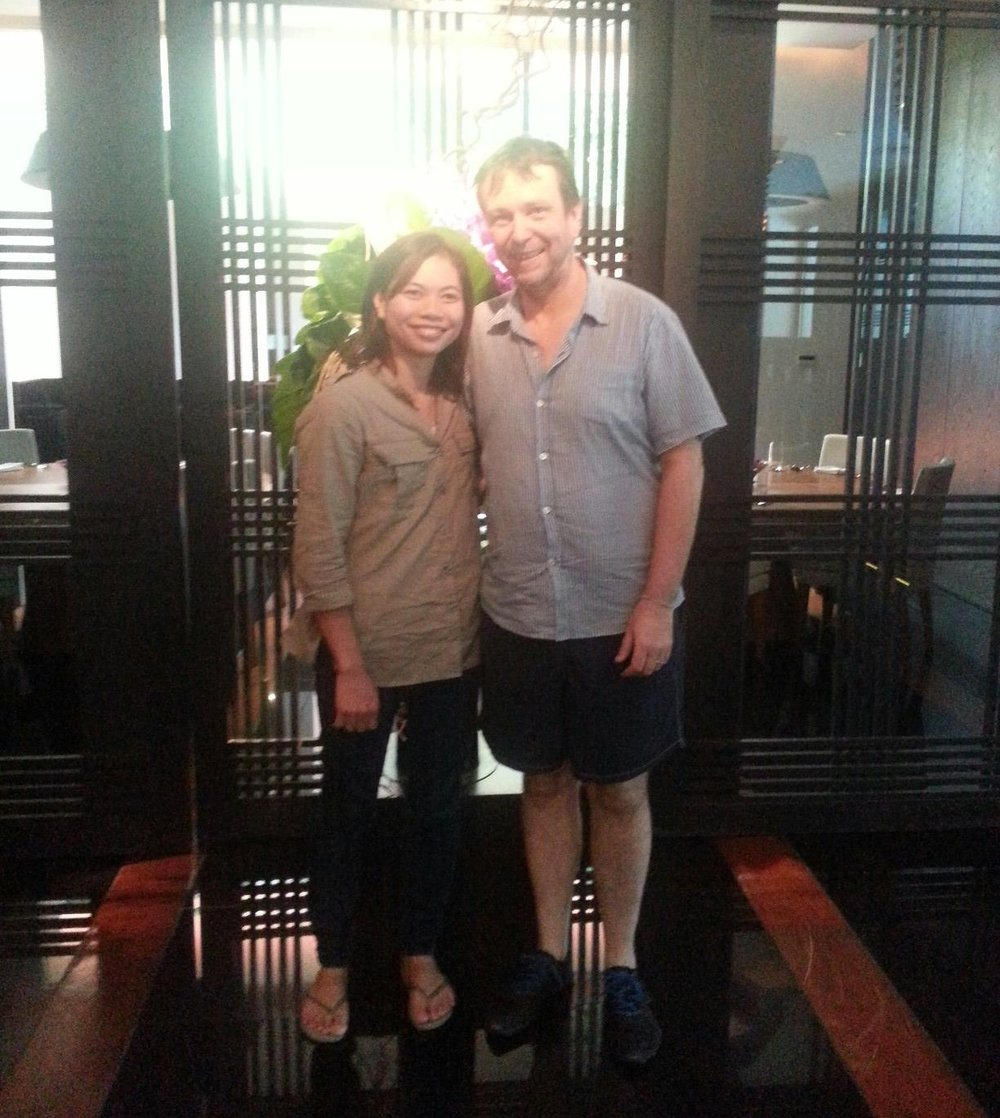 A precious opportunity meeting David Thompson and experience his kitchen at Nahm Bangkok