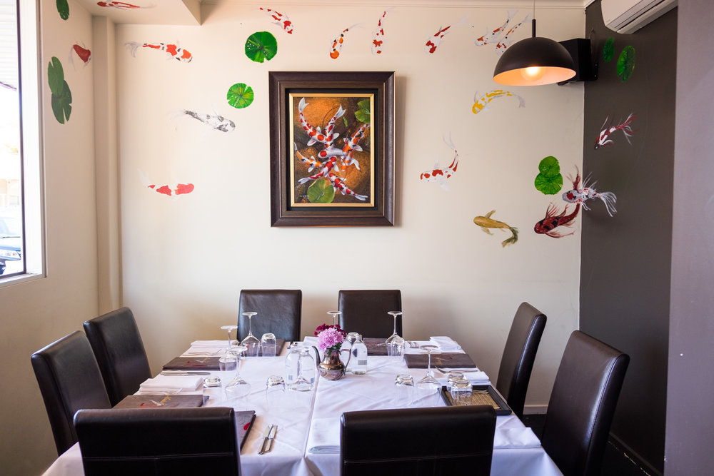 Private Dining Room; Seats up to 10 people
