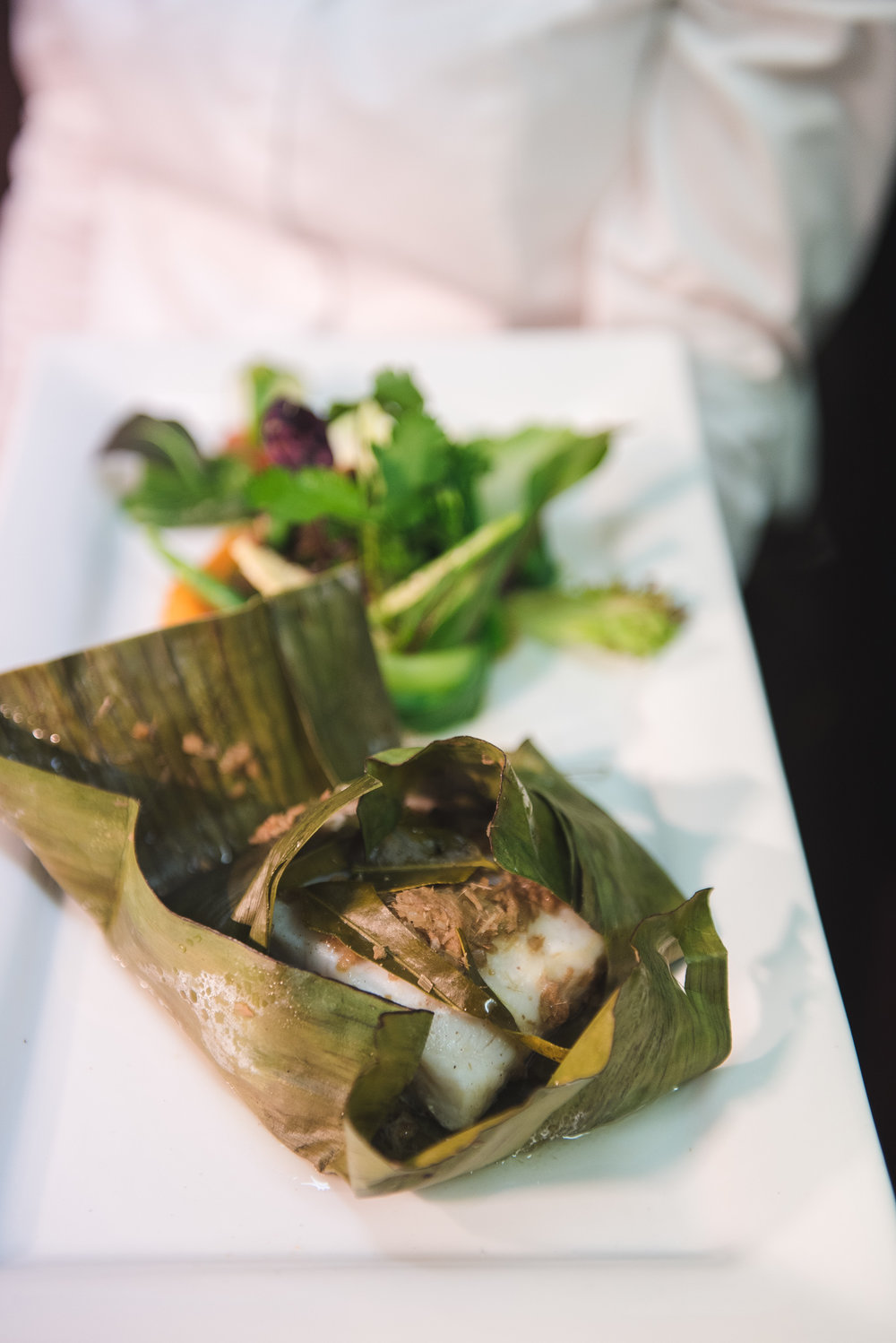 My grandmother used to cooked an aromatic steamed barramundi in banana leave for me when i was a little one.