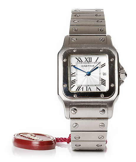 Cartier, wristwatch, sold online for SEK 30,000.