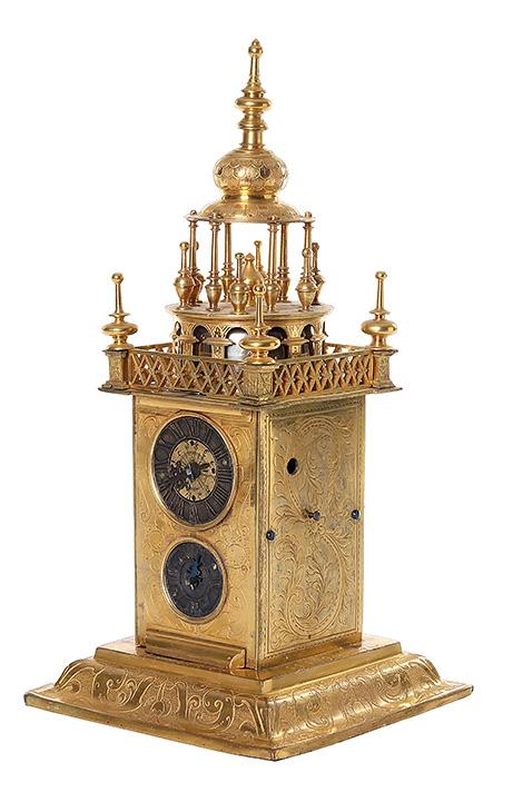 Bordsur, Augsburg, omkring år 1600. Klubbat Online för 120,000 kr.