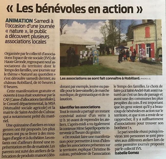 Article visible  ici .