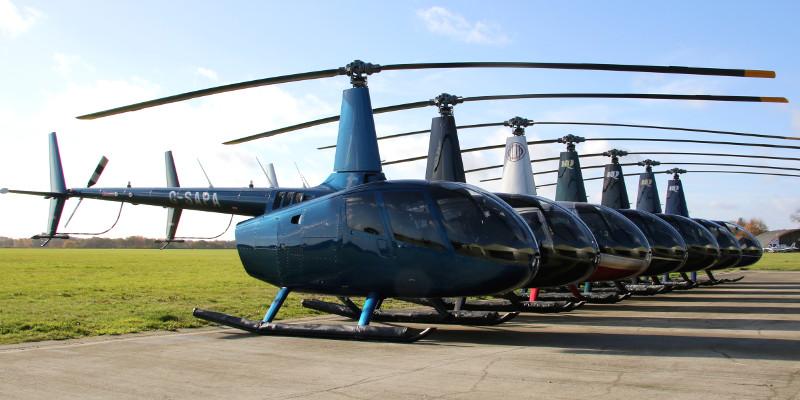 HQ Aviation Robinson R66 lineup