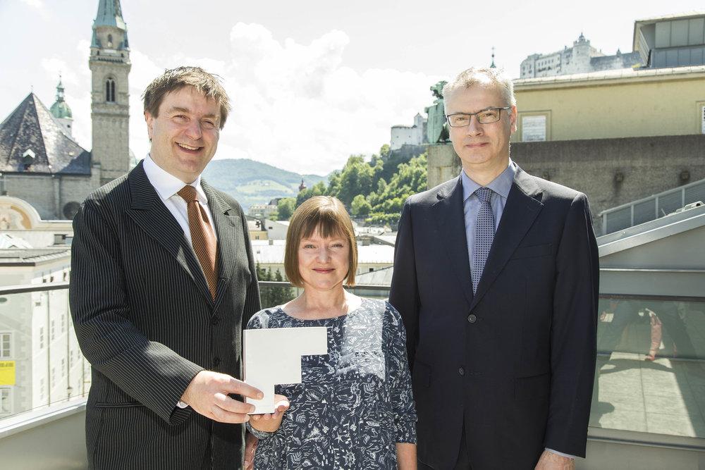 Fergus Sheil (Opera Winner),Anne Clarke (Opera Winner),Gavin O'Sullivan (Opera Winner)©FEDORA