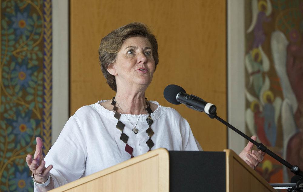 Helga Rabl-Stadler (President of the Salzburg Festival) ©FEDORA