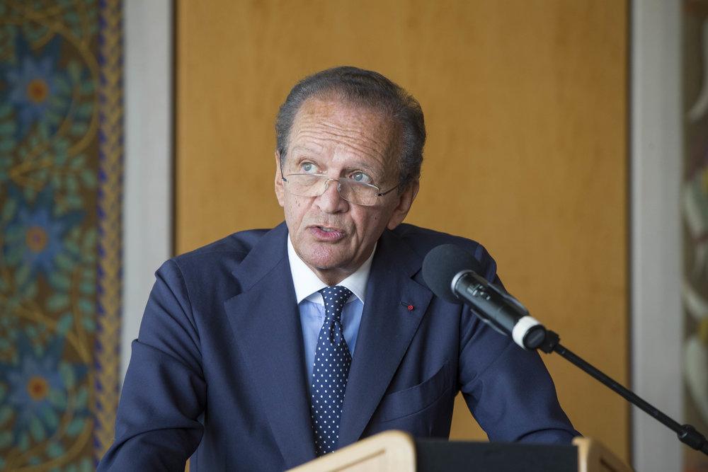 Jérôme-François Zieseniss (President of FEDORA) ©FEDORA