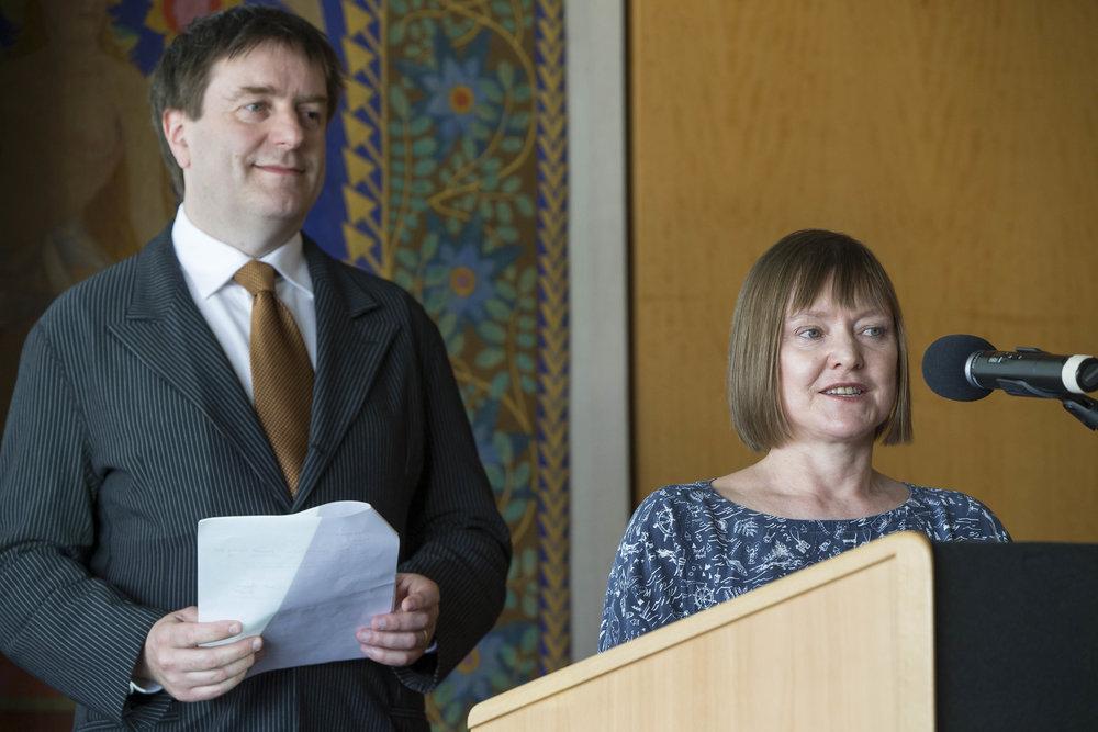 Fergus Sheil (Opera Winner), Anne Clarke (Opera Winner)©FEDORA
