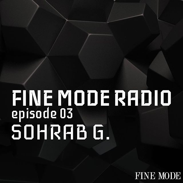 Fine Mode Radio is back with another episode featuring a mix by @sohrabgoftari available now on @mixcloud [link in bio] 🔊🔊🔊