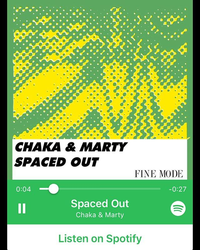 """#TBT to our second release inspired by Miami Music Week by @ChakaMarty last year titled """"Spaced Out"""" available for stream on @spotify"""
