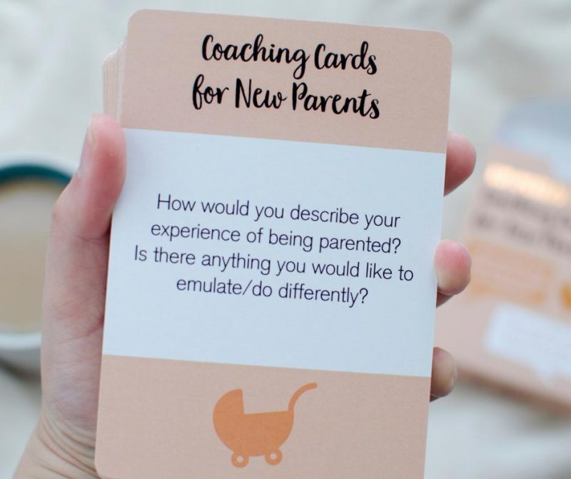 Coaching Cards for New Parents blog tour