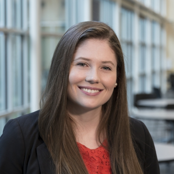 Emily Clark, University of Tennessee Bredesen Center graduate student pursuing a PhD in Energy Science and Engineering and Oak Ridge National Lab researcher in the Fusion and Materials for Nuclear Systems division
