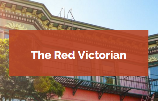 The Red Victorian   Coliving home, hotel, events & maker space exploring collaboration, creativity, nomadic lifestyles, & community. Welcome home ❤️