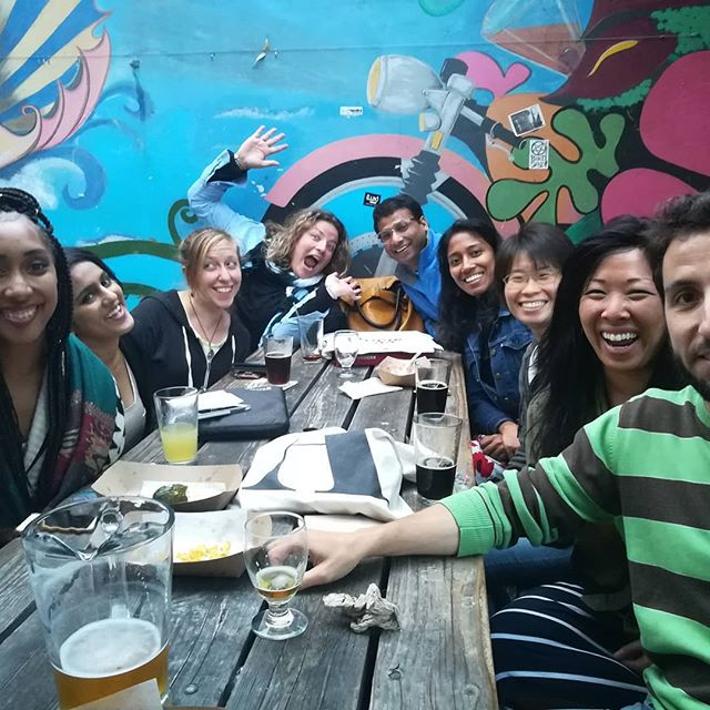 Bay area taste of science team together! #tasteofsci #scicomm #beerandscience