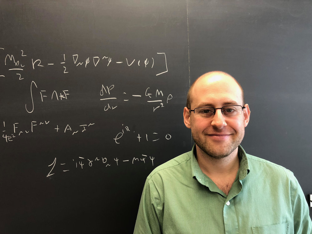 Originally from London, England, I spend my life trying to understand gravity—what is it? How it works? And why? As a theoretical physicist, my tools for answering these questions are simply pens, paper, and coffee.