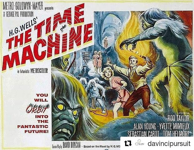 Free Thursday night? Come join us as we talk about the physics of time travel and the biological basis of the Eloi and Morlocks!  Thursday, January 3 | 7-10 pm at the Indiana State Museum  Sci-Fi movies take us on adventures through space and time and have unique influence upon human culture. Join the Indiana State Museum and The da Vinci Pursuit as we travel through time and explore some of these impacts. Each movie explores a time travelling adventure from a different decade beginning in the 1960s. Grab some popcorn and candy from IMAX and join in the conversation with local experts as we explore the movie's impact and then sit back and enjoy the show. Drinks and snacks will be available for purchase.  Joining us in conversation this month:  Dr. Andrew Gavrin, Chair of the IUPUI Department of Physics and  Paleoanthropologist, Dr. Andrew Deane from the IUSM Department of Anatomy  Price: $10/member, $15/non-member Register at indianamuseum.org or, call the State Museum at 317.232.1637 to register by phone.  Full series schedule: · Thursday, Jan. 3, 7 – 10 p.m. (The Time Machine) · Thursday, March 7, 7 – 10 p.m. (Buck Rogers in the 25th Century) · Thursday, May. 2, 7 - 10 p.m. (Back to the Future) · Thursday, July 11, 7 - 10 p.m. (Bill & Ted's Excellent Adventure) · Thursday, Sept. 5, 7 - 10 p.m. (Twelve Monkeys) · Thursday, Nov. 7, 7 -10 p.m (Interstellar)  #indyartandsci #atomicmovienight #scienceliterature #scicomm @indianamuseum @inhumanities #scifi #scienceofscifi #indyfilmfest