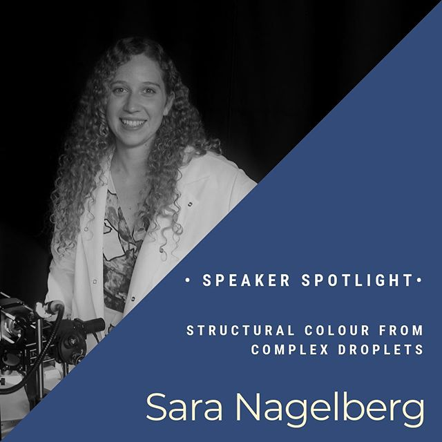 "Speaker Spotlight —  Sara Nagelberg is a Mechanical Engineering PhD Candidate, working in the the Labarotory for Bio-Inspired Photonic Engineering at MIT. Learn how you can alter color from droplet structure rather than pigments. This mechanism creates vivid and varying hues, displayed for instance by butterfly wings or precious opal. This talk will discuss the structural color that results from total internal reflection in small droplets, with applications ranging from bacteria sensors to inks and paints. Catch her talk this SUNDAY @dorchesterbrewing for our ""Science Sunday Kick-off"" event! #tastesci #bostonevents #boston #scicomm"