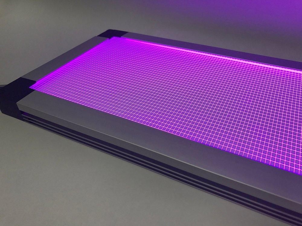 aurora rbg led light panel