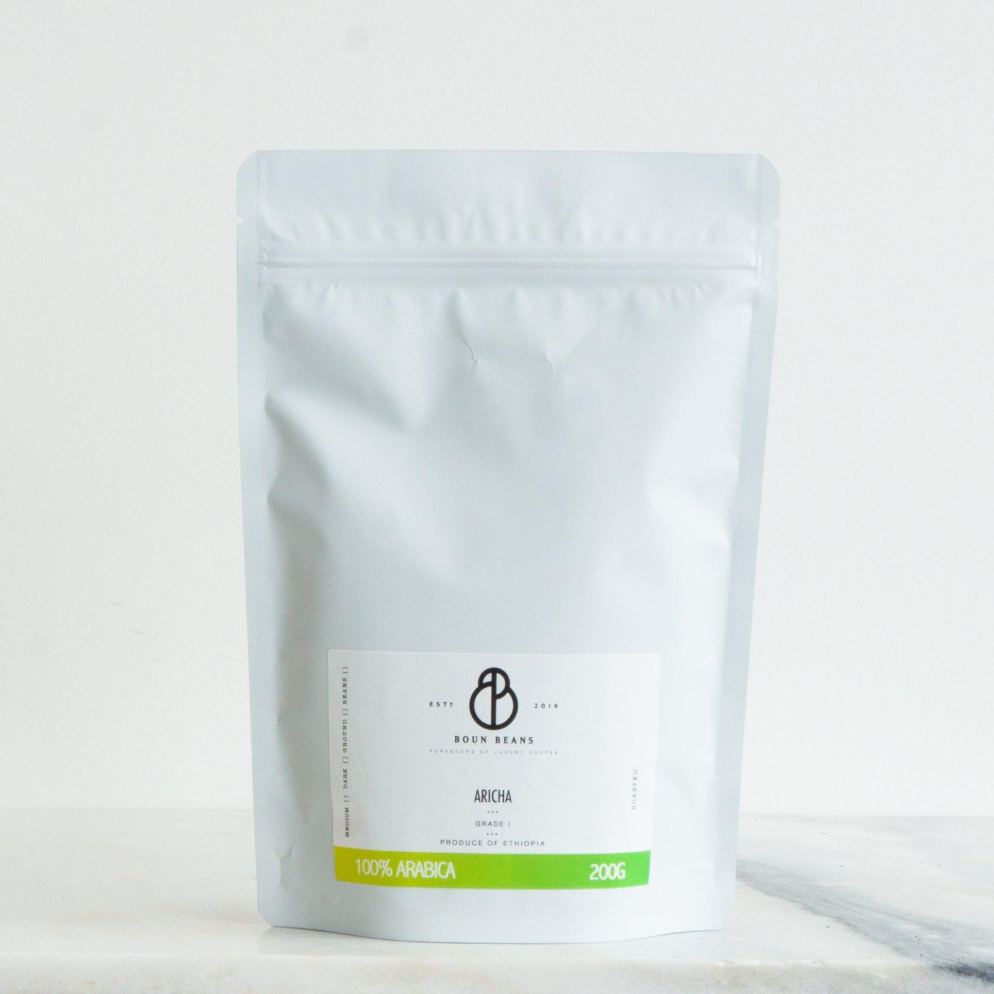 Ethiopian Coffee Aricha Grade 1 Buy Coffee Online Bespoke Roasts Free Delivery
